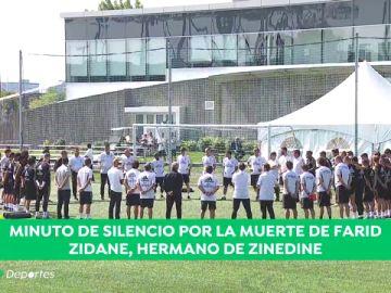 Muere Farid, el hermano de Zinedine Zidane, y el Madrid guarda un minuto de silencio en el entrenamiento en Montreal