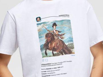 La camiseta de Zara