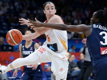 Silvia Domínguez en la final del Eurobasket 2019