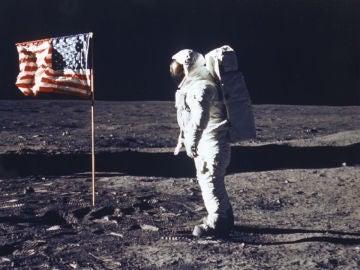 Llegada del hombre a la Luna en 1969