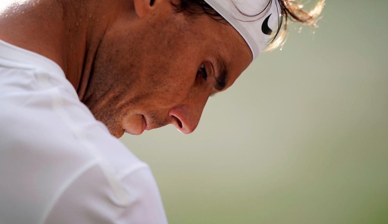 Rafa Nadal pierde ante Federer en las semifinales de Wimbledon