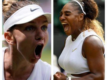 Serena Williams y Simona Halep se enfrentarán en la final de Wimbledon 2019 hoy a las 15:00