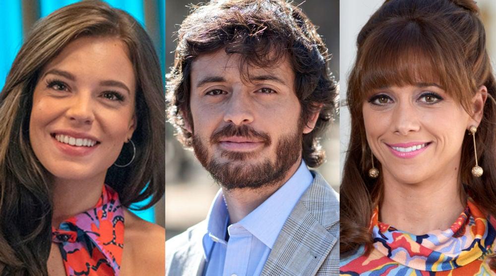 Lucía Martín Abello, Javier Pereira y Mariam Hernández