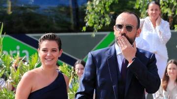 Laura Escanes y Risto Mejide en la boda de María Pombo