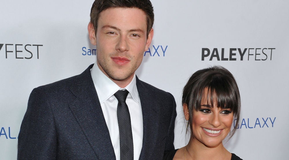 Cory Monteith y Lea Michelle