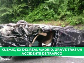 Ognjen Kuzmic, jugador del Real Madrid de baloncesto, en estado grave tras un accidente de tráfico