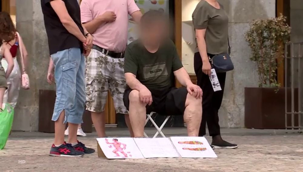 Los expertos avisan sobre la falta de higiene en los masajes callejeros