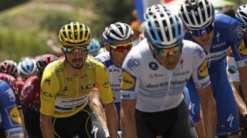 Alaphilippe, maillot amarillo del Tour