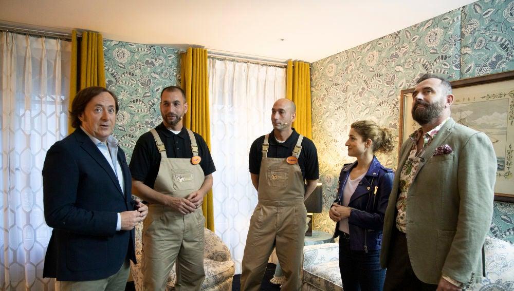 Así son las suites de hotel creadas por los finalistas de 'Masters de la reforma'