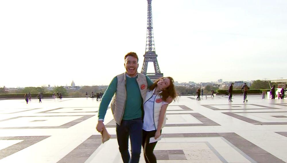 De la Torre Eiffel al Arco del Triunfo, la gran yincana de los finalistas de 'Masters de la reforma' por París en busca de antigüedades
