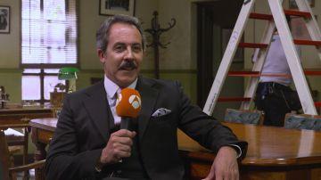 """José Navar, sobre su personaje: """"El destino de Puente Viejo está en mis manos"""""""