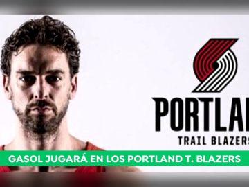 Pau Gasol ficha por los Portland Trail Blazers