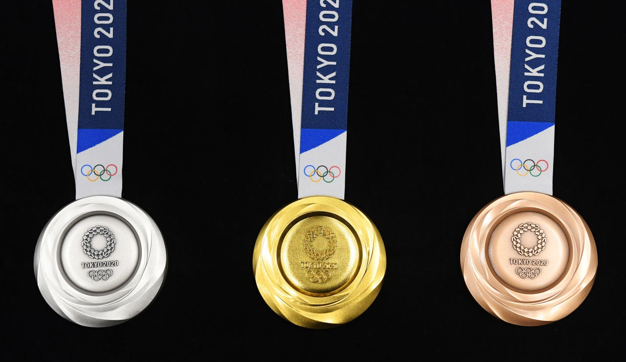 Las medallas olímpicas son recicladas