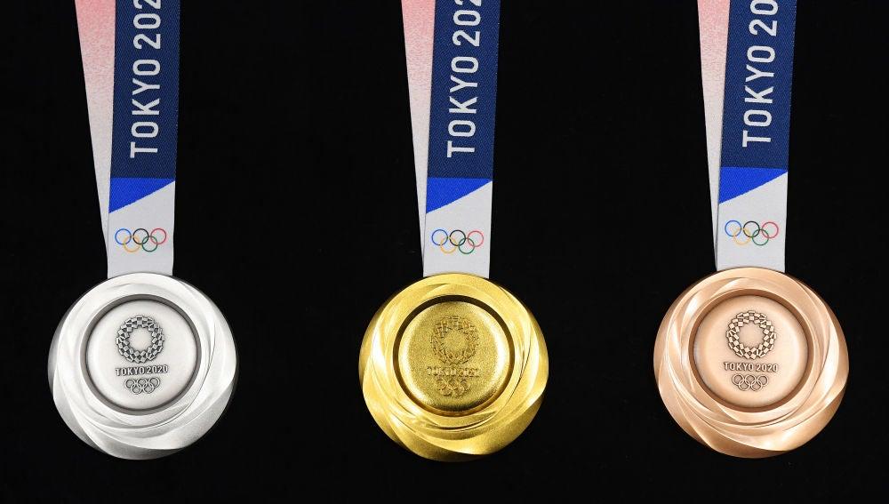 Las medallas olímpicas son recicladas