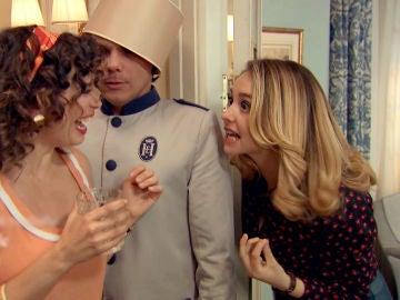 Luisita logra echar de la suite a los amigos de Amelia