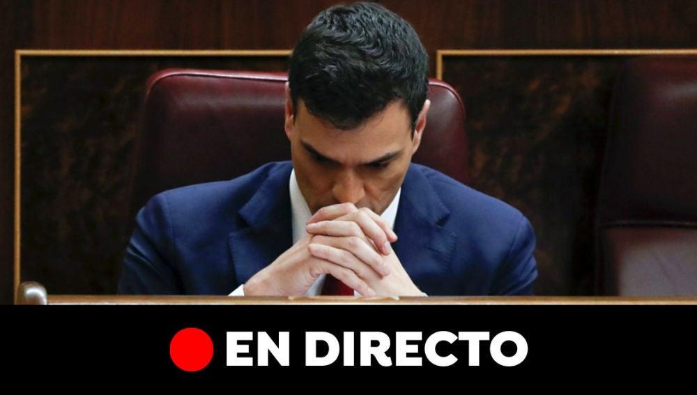 Sesión de investidura de Pedro Sánchez, en directo: Última hora de la votación y la negociación PSOE-Podemos