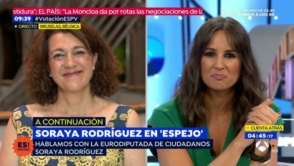 Soraya Rodríguez, eurodiputada de Ciudadanos