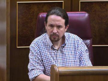 Los gestos del enfrentamiento entre Pedro Sánchez y Pablo Iglesias