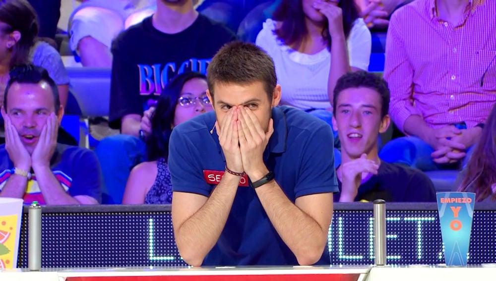 Un concursante cae tres veces en 'se lo doy' en 'La ruleta de la suerte'
