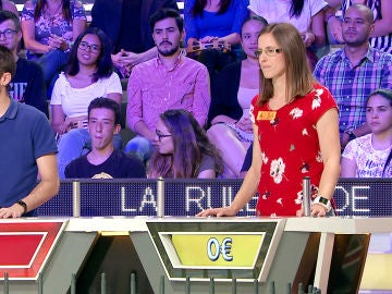 Una concursante pide la 'A' de España en 'La ruleta de la suerte'