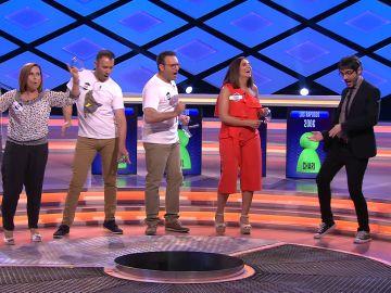"""""""¡Ojo, ojo!"""", Raúl se viene muy arriba con Miguel Bosé y su 'Amante bandido' en '¡Boom!'"""