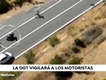 Tráfico intensifica la vigilancia este fin de semana ante un aumento en la siniestralidad de los motoristas