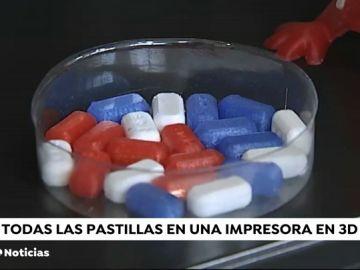 Desarrollan una impresora 3D capaz de reducir multitud de pastillas en una sola