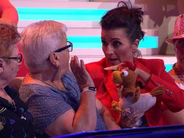 El buen rollo de Silvia Abril con el público de '¡Ahora caigo!'