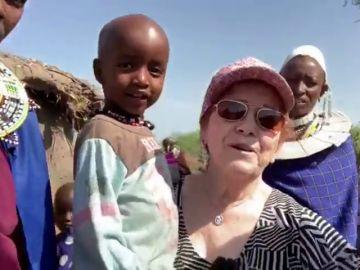 La felicidad de Paquita conociendo Tanzania