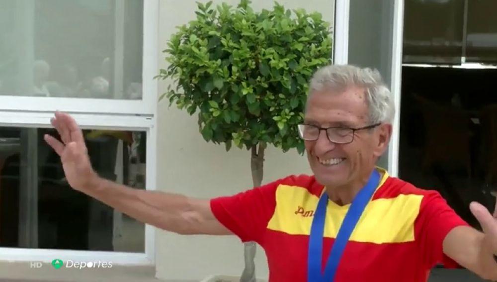 Mnauel Alonso, el atleta español con más internacionales