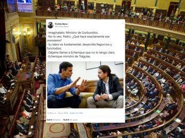 Memes de Pedro Sánchez y Pablo Iglesias