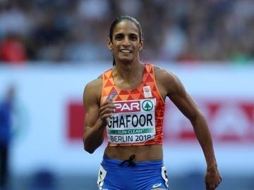 La atleta Madiea Ghafoor