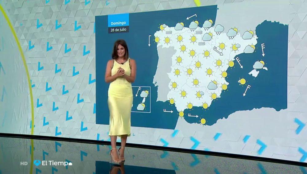 Vuelven aumentar ligeramente las temperaturas en algunas regiones del país