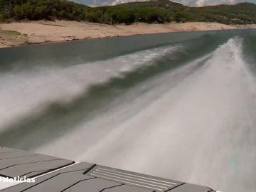 Alerta por escasez de agua en el pantano de San Juan