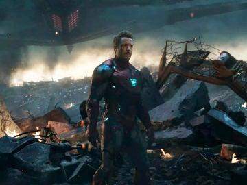 Iron Man en una escena de 'Vengadores: Endgame'