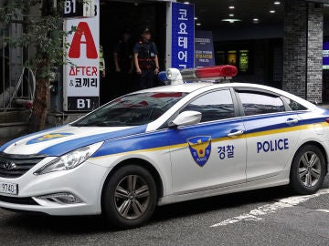 Coche de la Policía de Corea del Sur