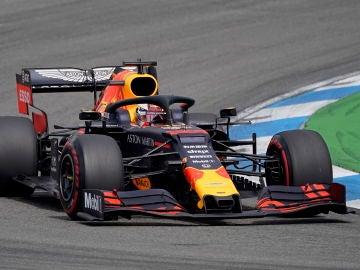 Max Verstappen, durante el GP de Alemania