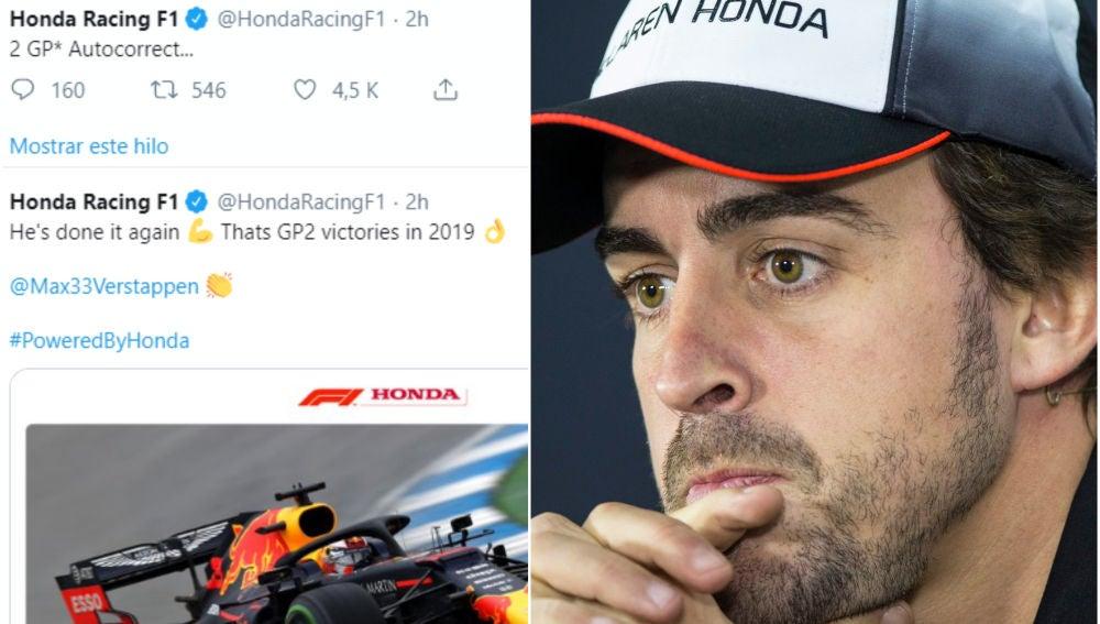 El recado de Honda a Fernando Alonso