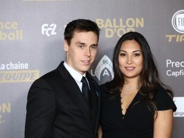 Louis Ducruet y Marie Chevallier