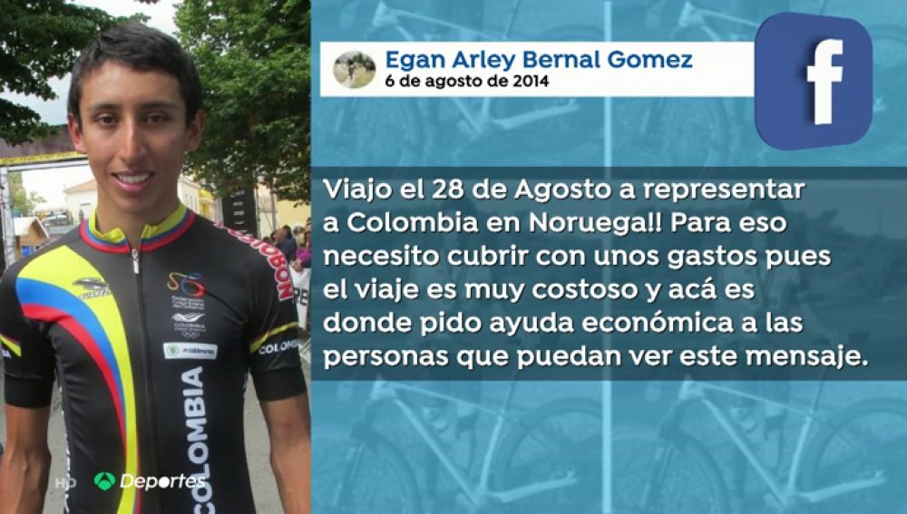 La increíble historia de Egan Bernal: de pedir dinero a ganar más de 500.000 euros por su triunfo en el Tour de Francia