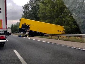 Accidente del camión de Renault