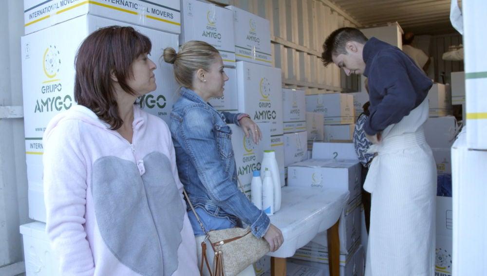 La familia Izquierdo-Vicedo prioriza las necesidades profesionales en su segunda visita a 'El Contenedor'