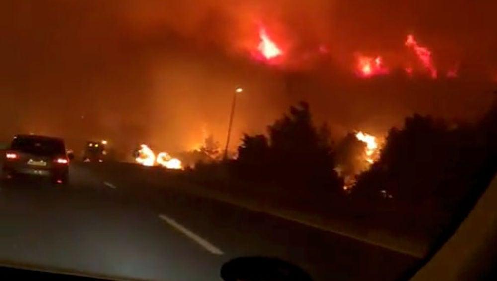 900 hectáreas calcinadas en un incendio en Croacia