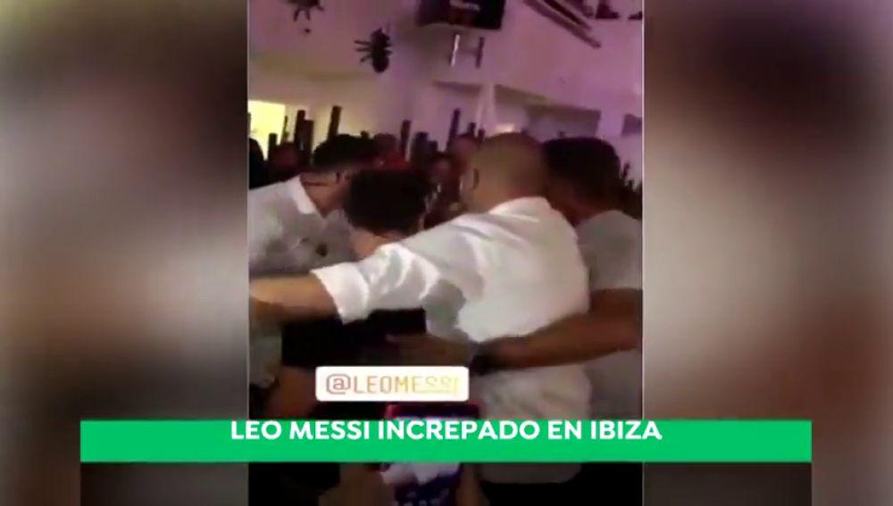 Intentan agredir a Leo Messi en una discoteca Ibiza