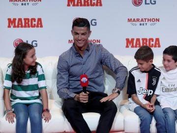 Ronaldo ha recibido el Marca Leyenda