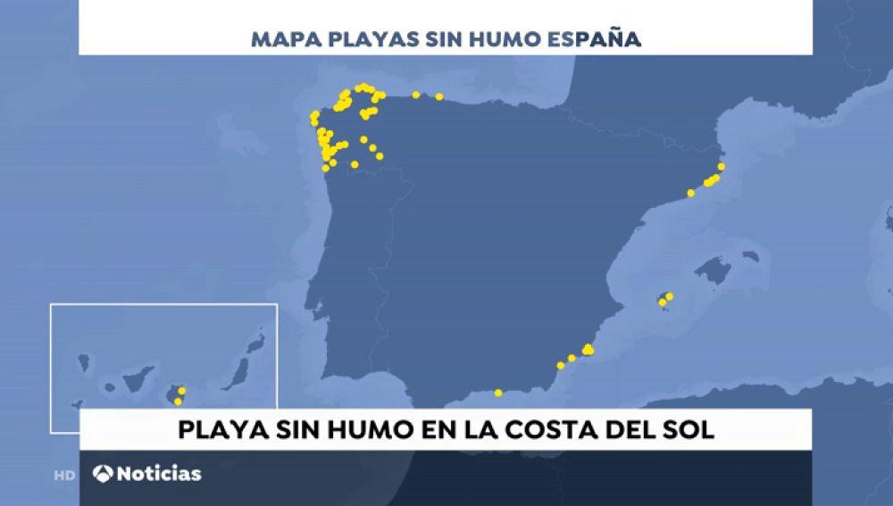 Estas son las playas españolas donde está prohibido fumar