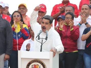 Imagen de Nicolás Maduro de archivo