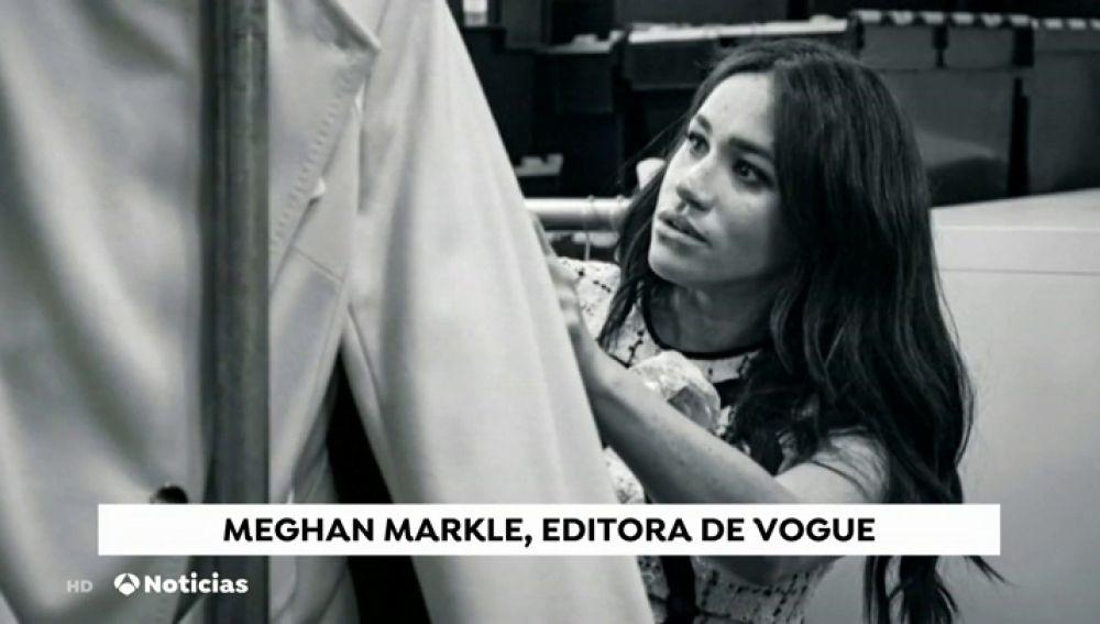 Meghan Markle se estrena como editora de Vogue en la edición de septiembre