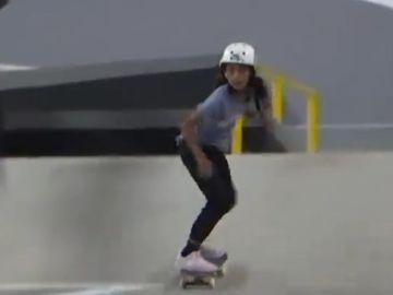 Layssa Real, campeona en la segunda prueba del mundial de Skate