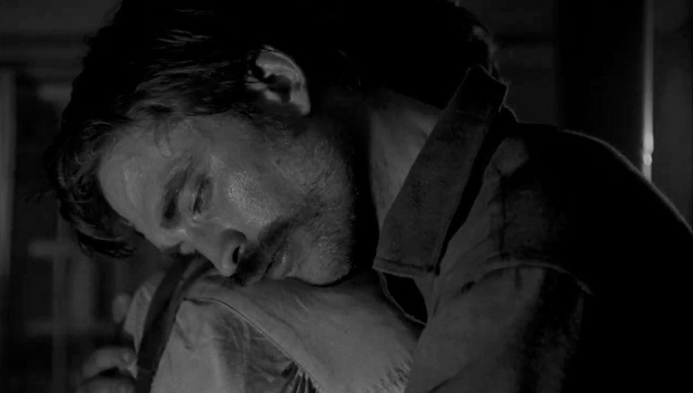 Robert Pattinson en el tráiler de 'The Lighthouse'